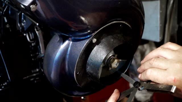 Outboard water-jet motor video