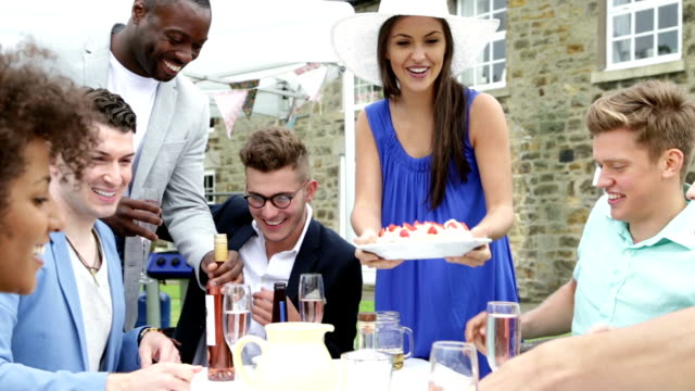 Outdoor Dinner Party video