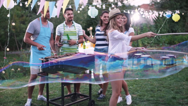 Outdoor party video