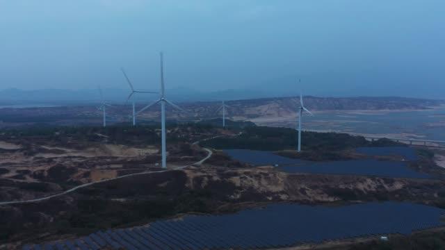 Outdoor photovoltaic power generation scene
