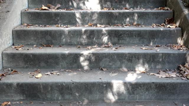 市内の屋外階段 - 階段点の映像素材/bロール