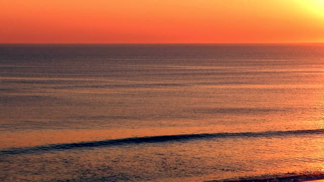 outer banks sunrise NTSC & HD video