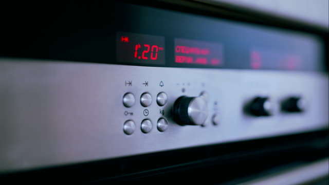 Oven control panel video
