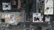 istock overhead aerial cars driving in Midtown Manhattan traffic New York City 1027480376