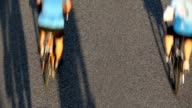 istock Overhead view of road cyclists, Vancouver Whistler Gran Fondo 1253168347