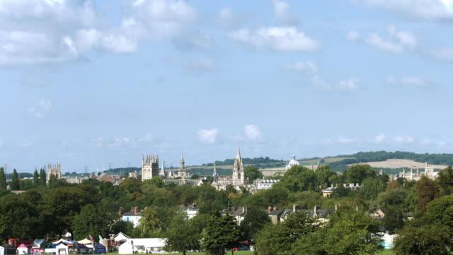 Oxford university long distance time lapse video