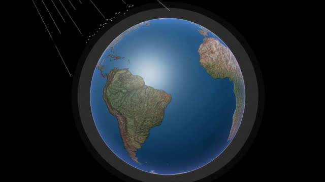 stockvideo's en b-roll-footage met ozone layer rays - ozonlaag