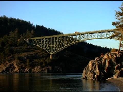 Pacific Northwest highway bridge video