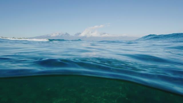 pacific ocean - ocean spokojny filmów i materiałów b-roll