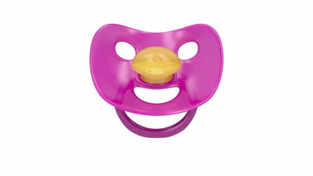 pacifier - ciuccio video stock e b–roll