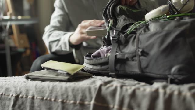 Packing rucksack