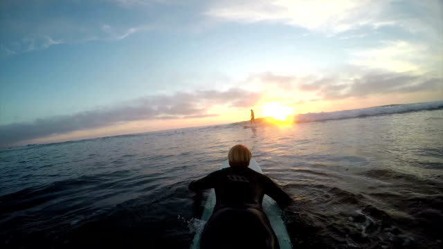 paddling out video