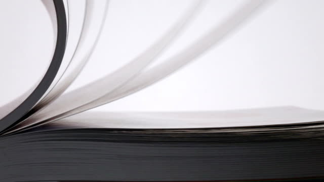 Page Curl And Fall Slow Motion. video