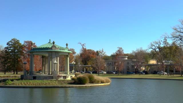 pagoda lake-st louis, missouri - st louis filmów i materiałów b-roll