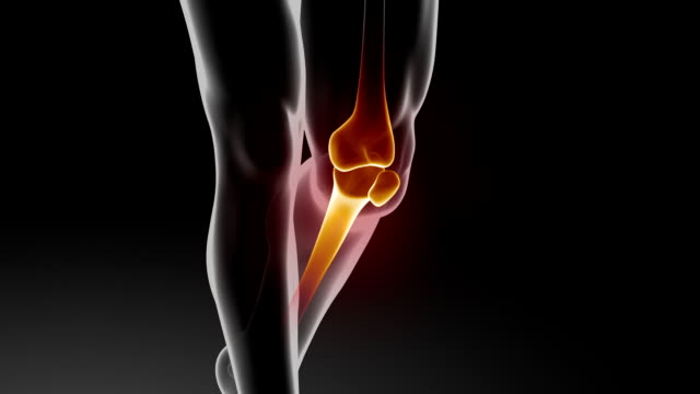 pain in knee with therapeutic effects - sports medicine stock videos and b-roll footage