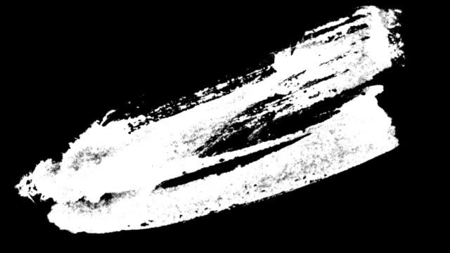 ペイントブラシストローク - インク点の映像素材/bロール