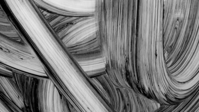 boya yayma ve mix - lekeli kirli stok videoları ve detay görüntü çekimi