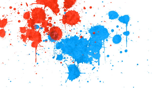 stockvideo's en b-roll-footage met paint splatter - bespatterd