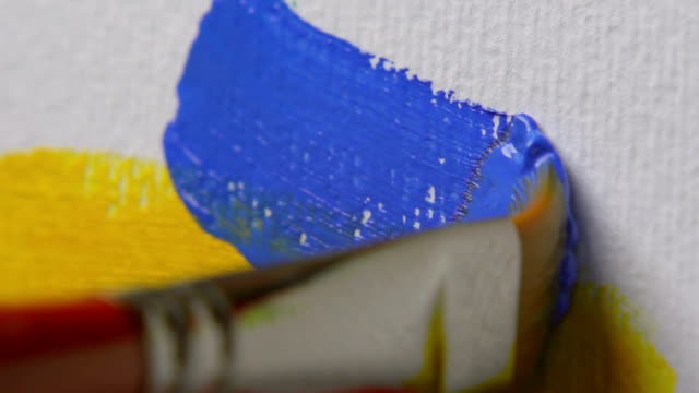 Paintbrush, Close-up video