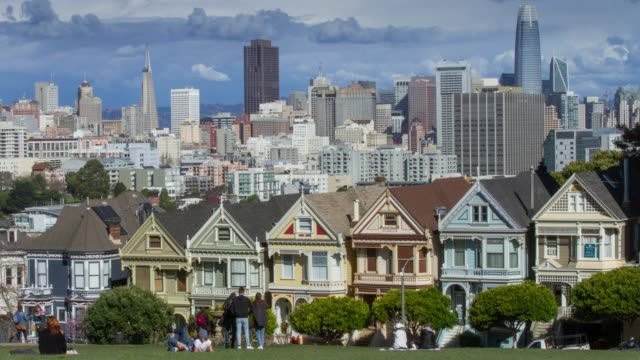 Painted Ladies San Francisco.