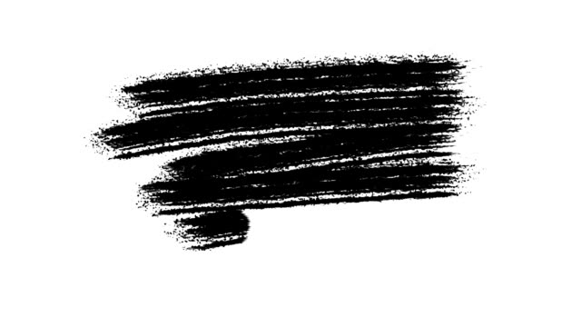 Painting Black Brush Grunge background for titles or other your text with alpha channel. Watercolor Retro art Vintage Abstract background. Hand drawn Texture video