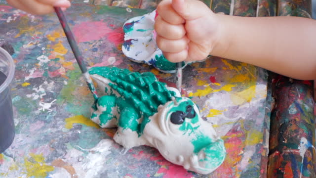 Painting the Crocodile
