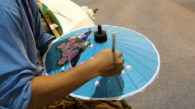 painting umbrella,Thailand