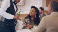 istock Pairing their meal with a red wine 1262289995