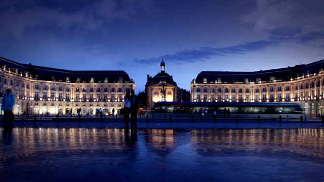 Palace de la bourse, Bordeaux, France video