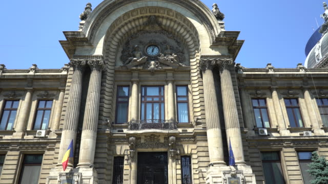 CEC Palace in Bucharest - 3 clips video