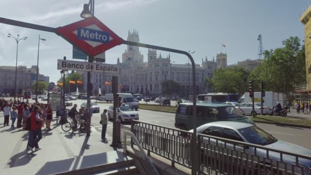 Palacio De Comunicaciones At Plaza Cibeles Madrid Spain