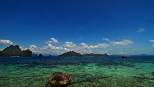 Palawan El Nido Island timelapse video
