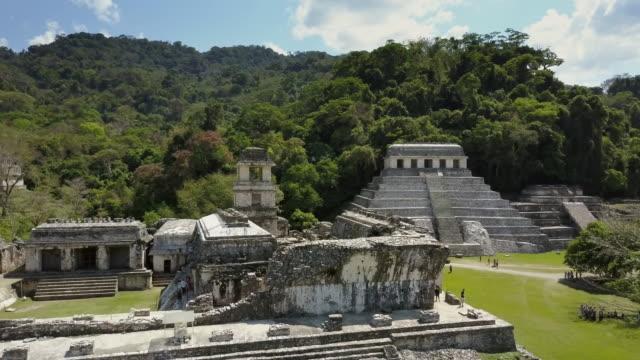 vídeos de stock, filmes e b-roll de palenque, chiapas méxico - civilização milenar