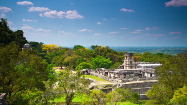 TIME LAPSE: Palenque Maya Ruins video