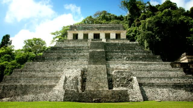Palenque Mayan Pyramid, Mexico video