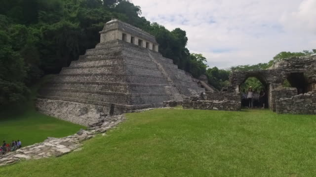 palenque mayan ruins mayan ruins of palenque in chiapas old ruin stock videos & royalty-free footage