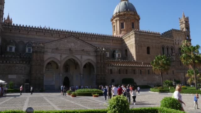 Palermo Cathedral, Sicily Italy video