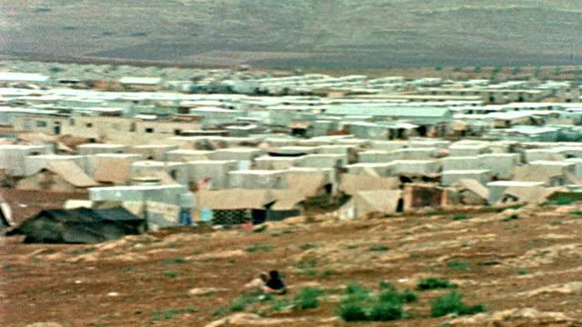 Palestinian Refugee Camp Circa 1970 video