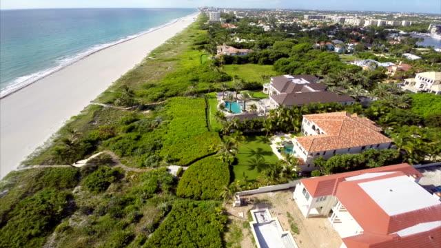 Palm Beach Florida aerial video video