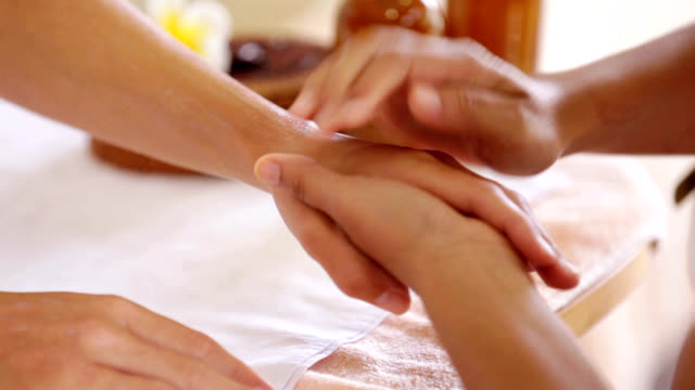 Pampered hands are beautiful video