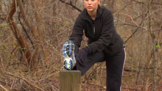 Pam's Hamstring Stretch - Multi Perspective video