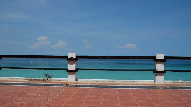 stockvideo's en b-roll-footage met pan balkon en zee - providenciales