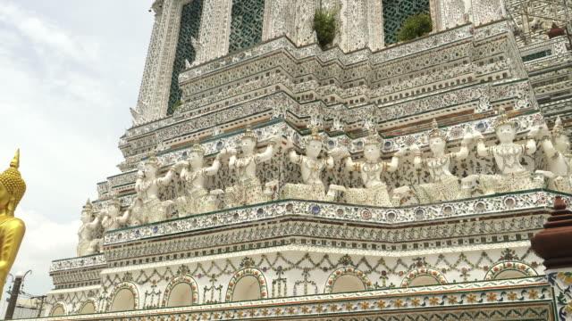 曼谷笏寺的主尖頂盤 - 東南 個影片檔及 b 捲影像