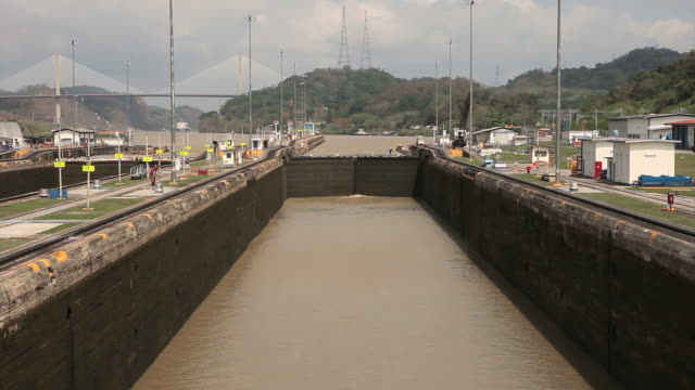 Panama Canal Time-lapse HD video