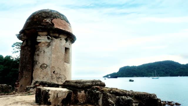 Panama Portobelo turret view video