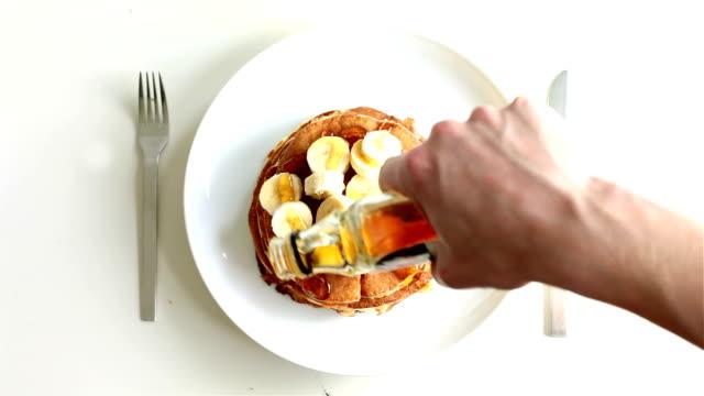 pancake - pancake video stock e b–roll