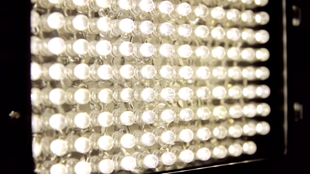 LED Panel Light On Off (HD) video