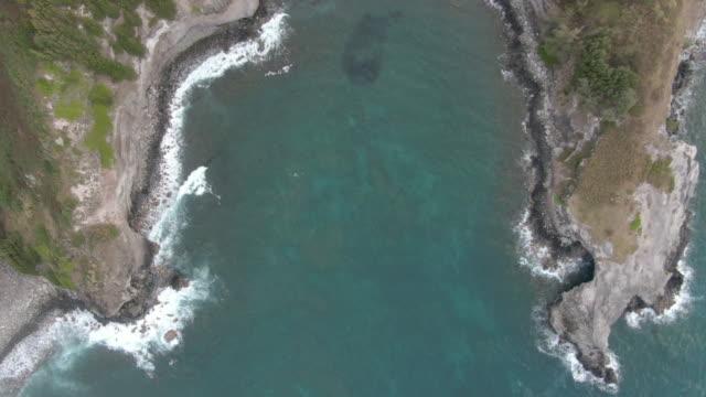 Panning across Ocean Cliffs