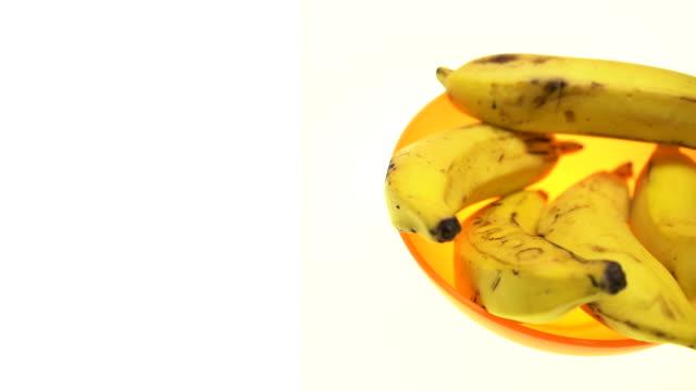 Panning Bananas 4K video