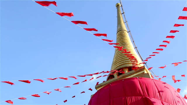 HD Panning: Bangkok Pagoda Mountain video